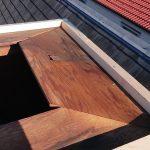 目黒区にて煙突部分の修理