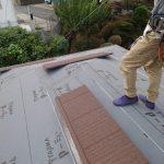 世田谷区にて屋根工事