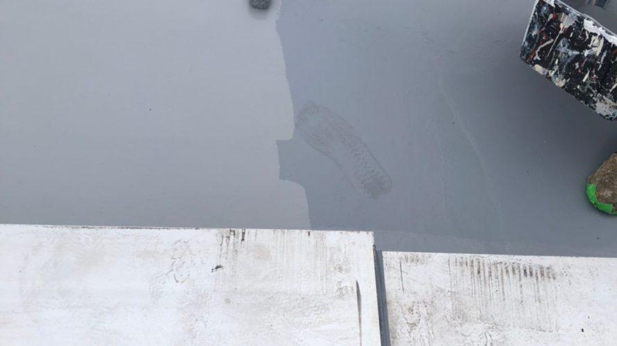 世田谷区にて屋根防水工事